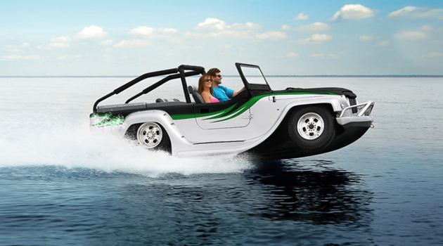 Water Car Panther auto anfibia