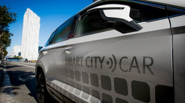 Ateca smart city car: il prototipo Seat intelligente
