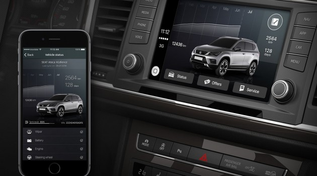 Seat DriveApp:  la prima App specifica per CarPlay