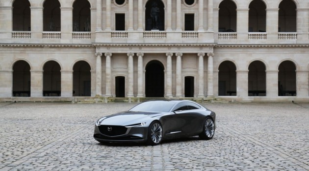 Mazda Vision Coupè Concpet vincitrice del Concept Car of the Year